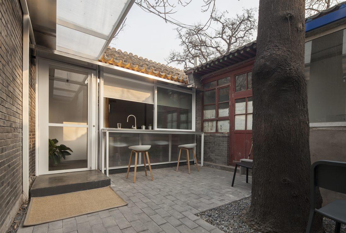 Обновление дома в Пекине по проекту студии OEU-ChaO 4