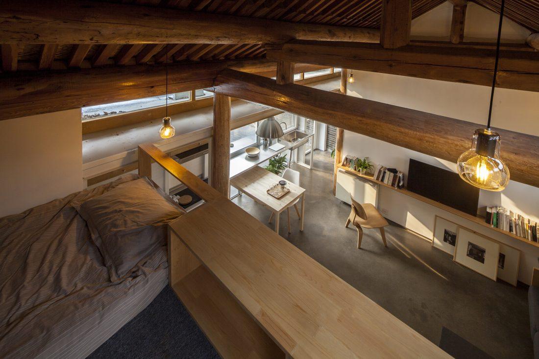 Обновление дома в Пекине по проекту студии OEU-ChaO 5