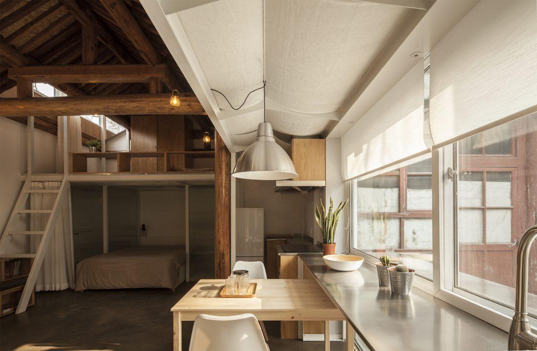 Обновление дома в Пекине по проекту студии OEU-ChaO 6