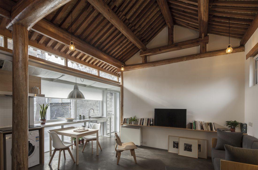 Обновление дома в Пекине по проекту студии OEU-ChaO 8
