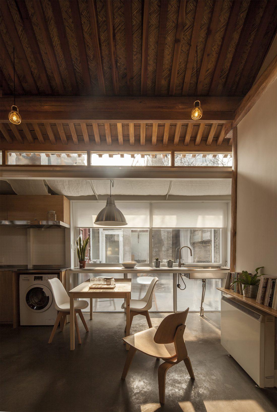 Обновление дома в Пекине по проекту студии OEU-ChaO 9