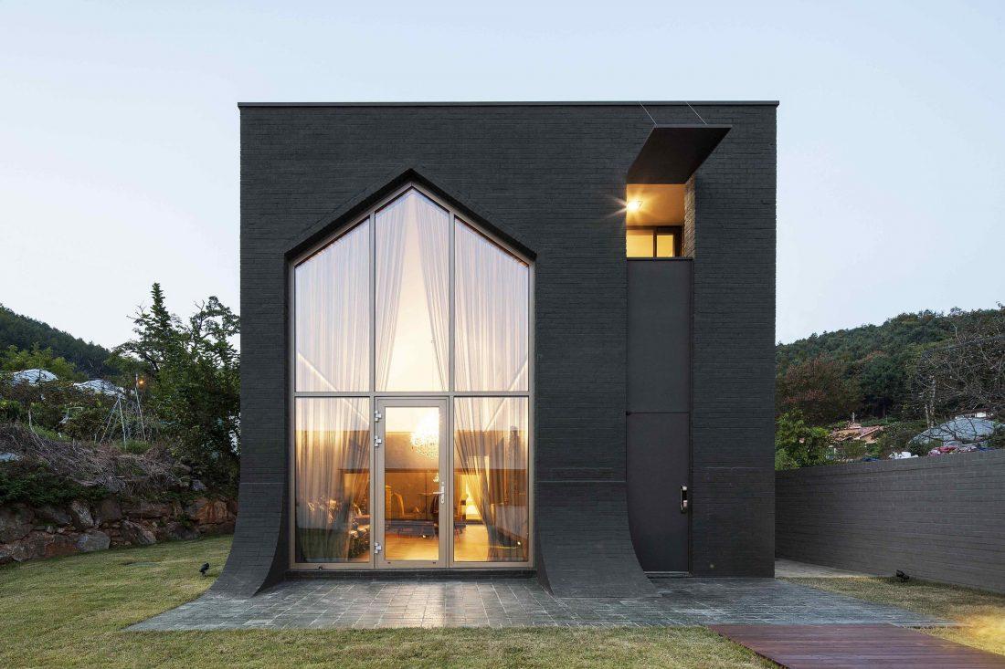 Проект B-house в Южной Корее от студии 100 A associates 1