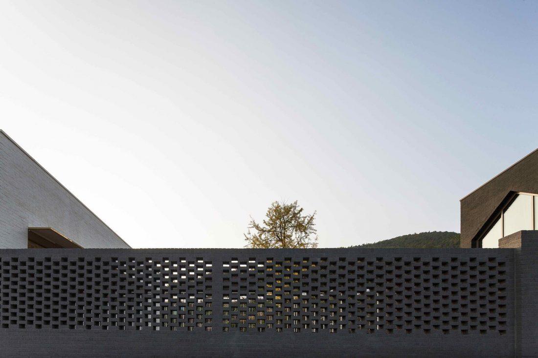 Проект B-house в Южной Корее от студии 100 A associates 13