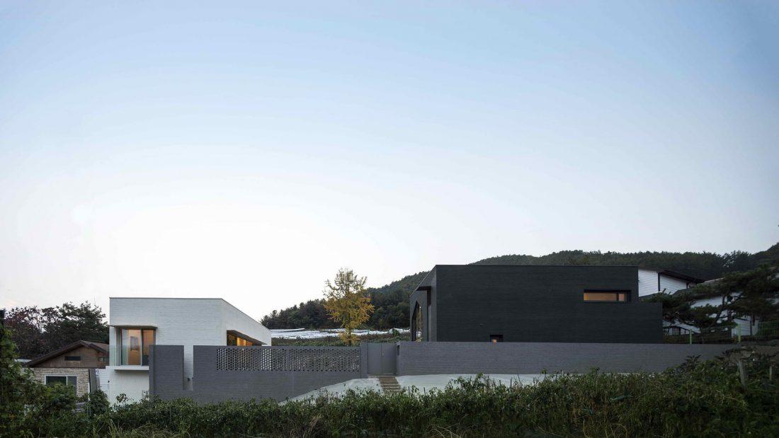 Проект B-house в Южной Корее от студии 100 A associates 18