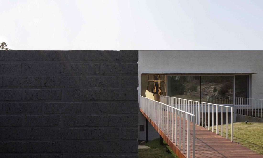 Проект B-house в Южной Корее от студии 100 A associates 26
