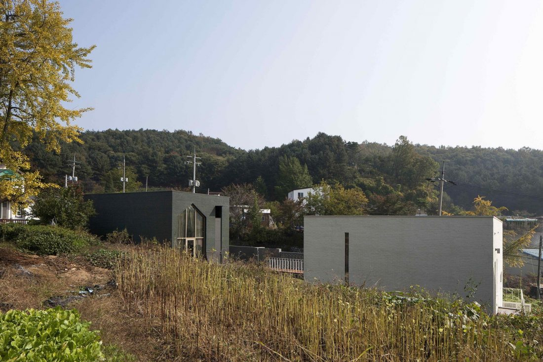 Проект B-house в Южной Корее от студии 100 A associates 27
