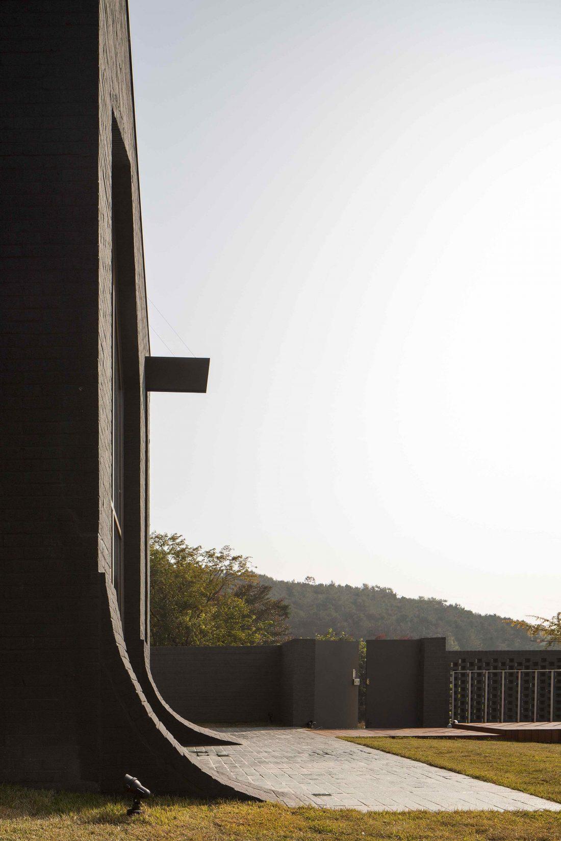 Проект B-house в Южной Корее от студии 100 A associates 31