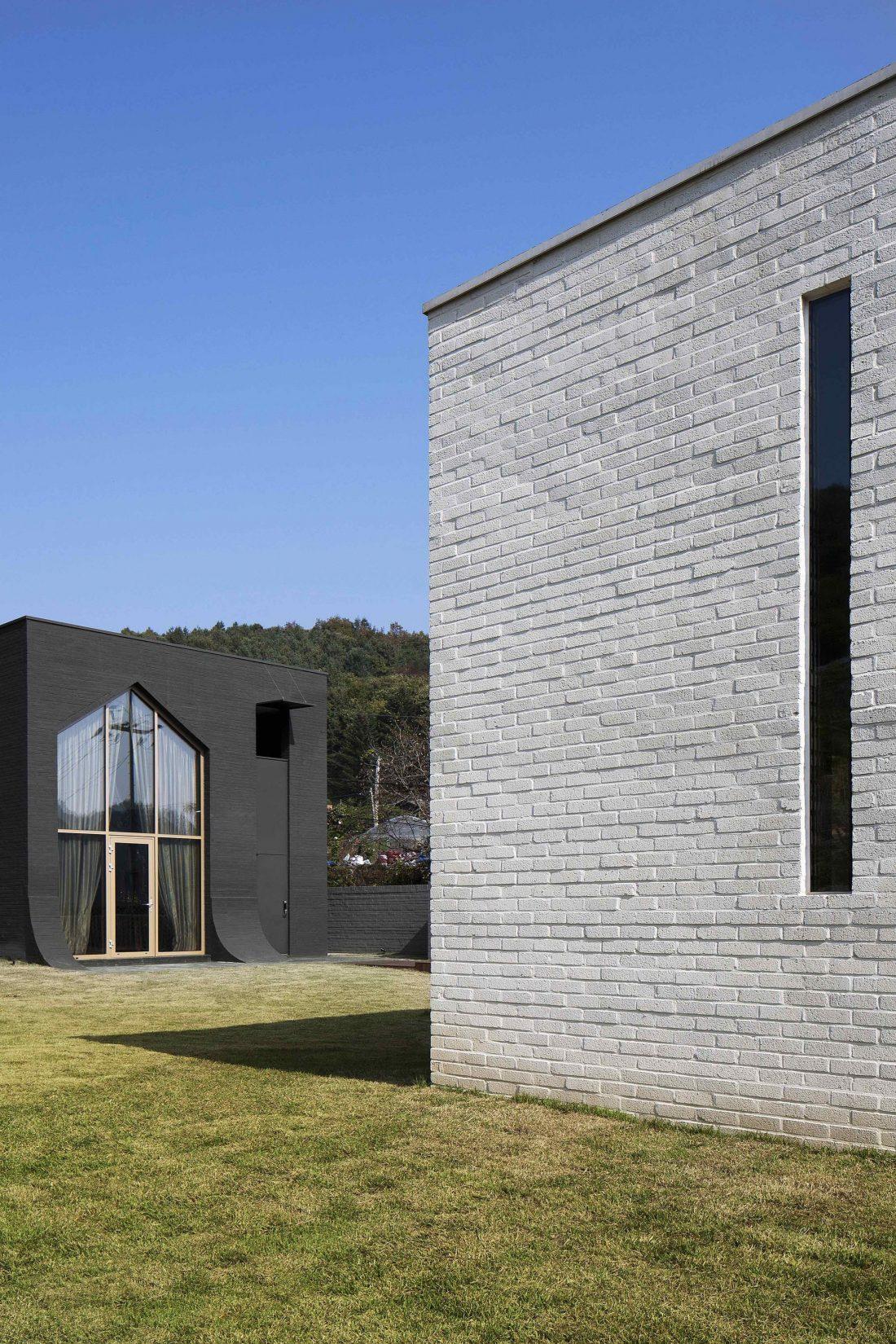 Проект B-house в Южной Корее от студии 100 A associates 34