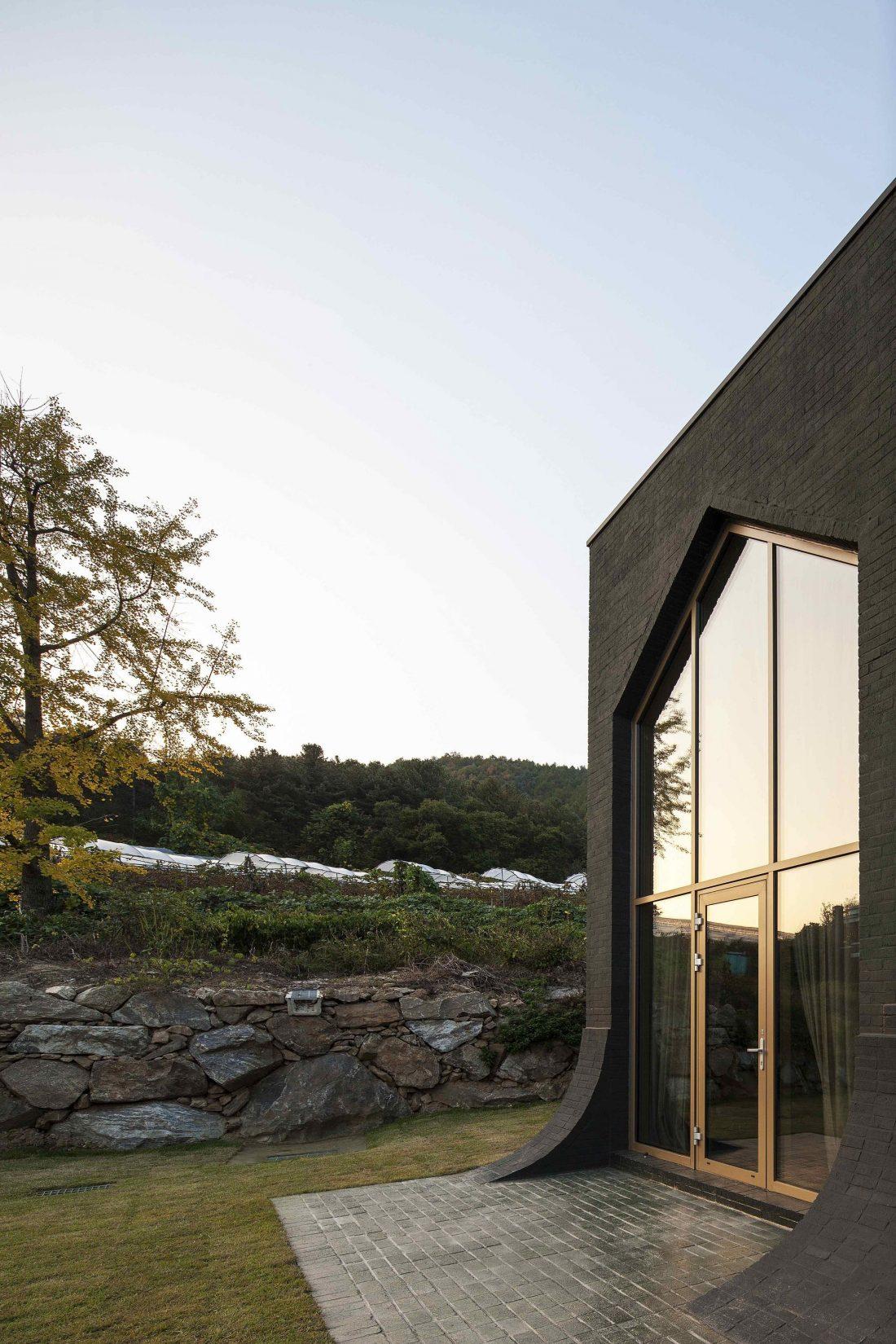 Проект B-house в Южной Корее от студии 100 A associates 8