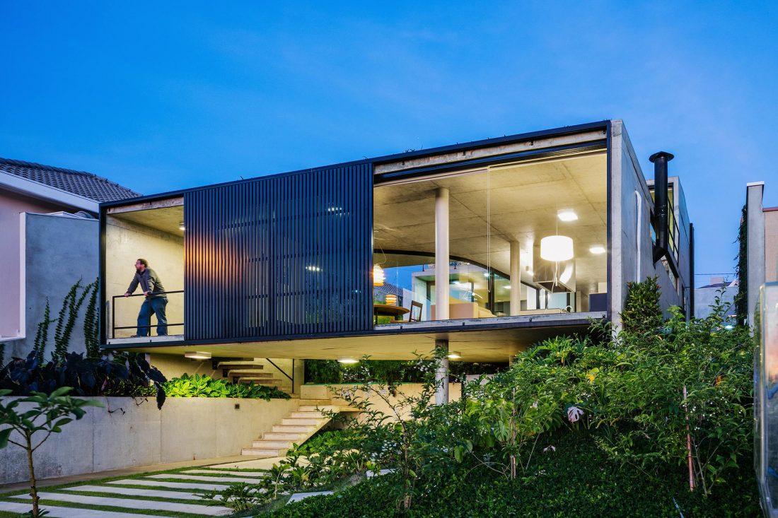 Проект LEnS House от студии Obra Arquitetos 10