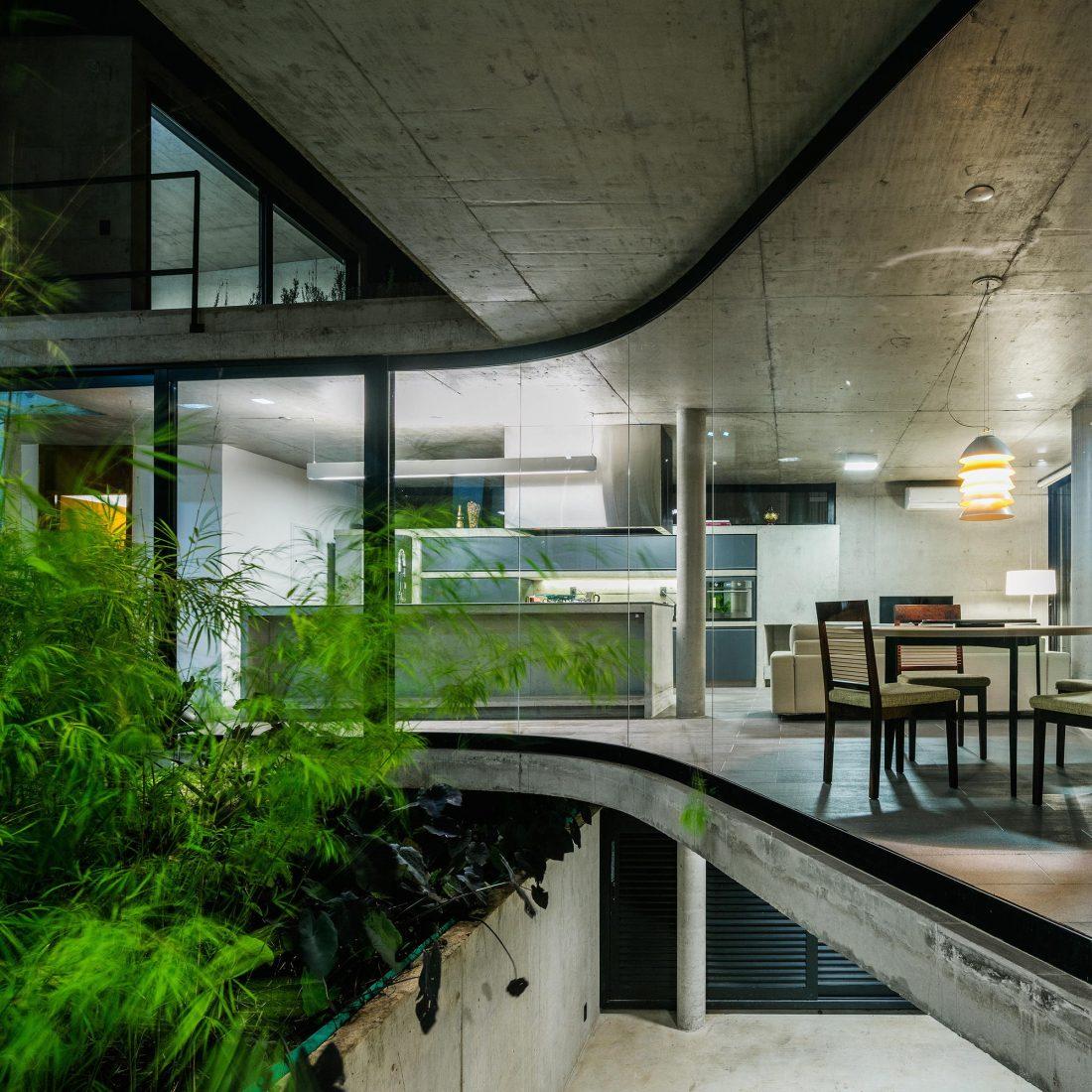 Проект LEnS House от студии Obra Arquitetos 3