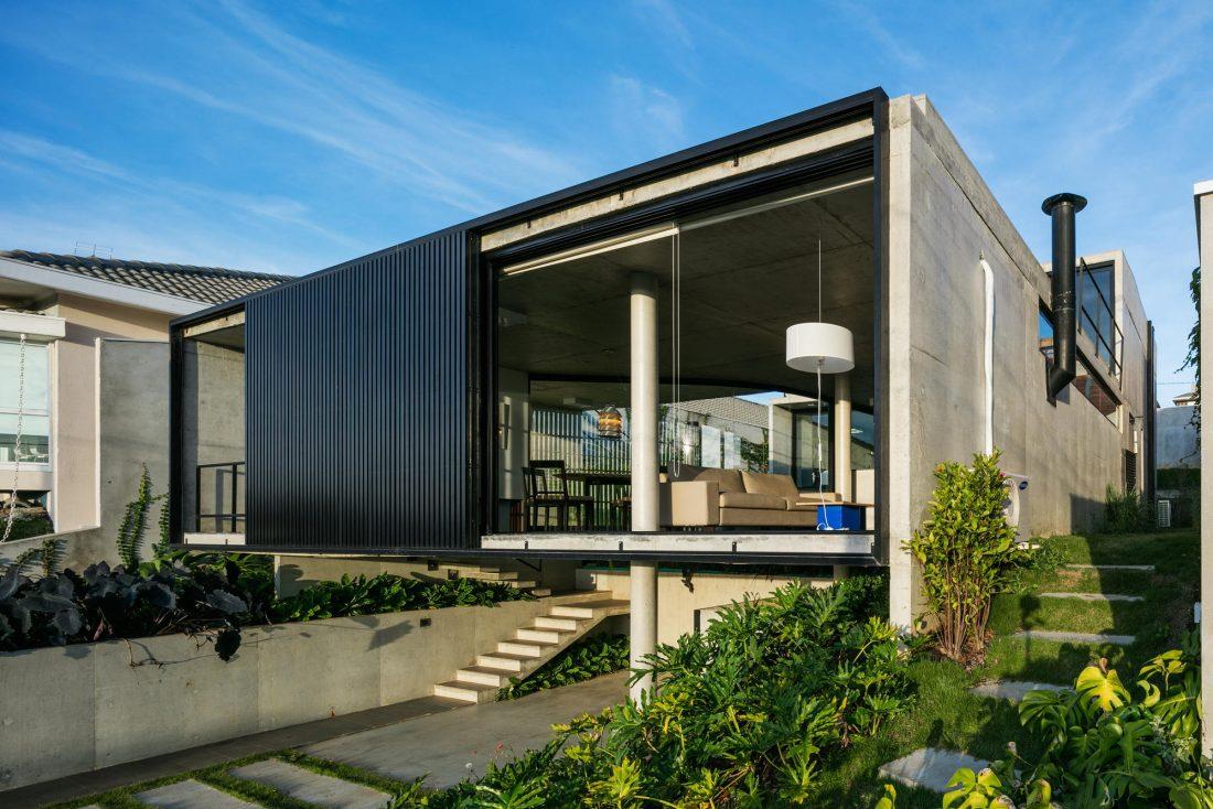 Проект LEnS House от студии Obra Arquitetos 6