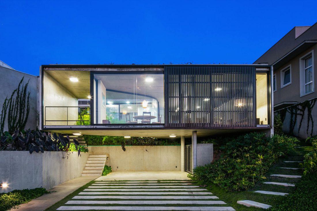 Проект LEnS House от студии Obra Arquitetos 7