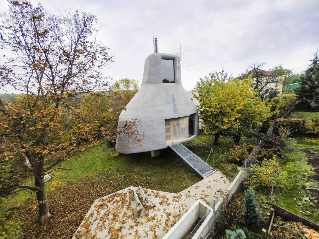 Семейный дом-дерево от студии SEPKA ARCHITEKTI 1