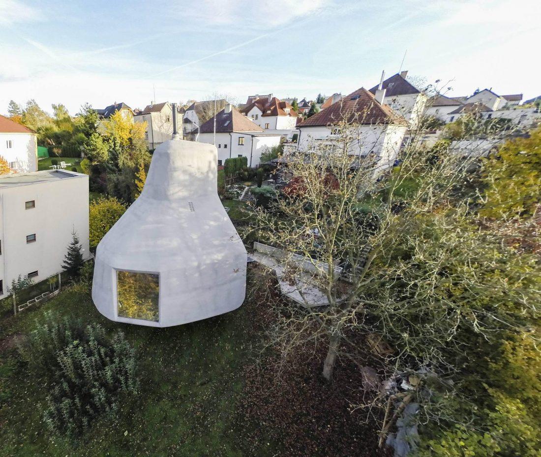 Семейный дом-дерево от студии SEPKA ARCHITEKTI 16