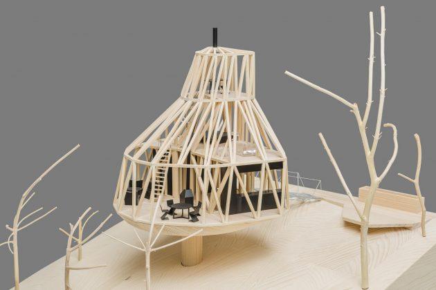 Семейный дом-дерево от студии SEPKA ARCHITEKTI 36