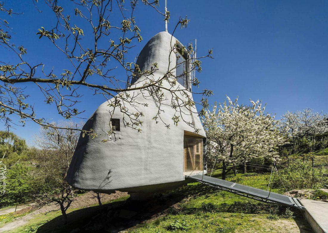 Семейный дом-дерево от студии SEPKA ARCHITEKTI 4