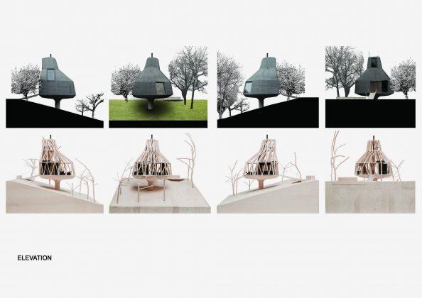 Семейный дом-дерево от студии SEPKA ARCHITEKTI 46