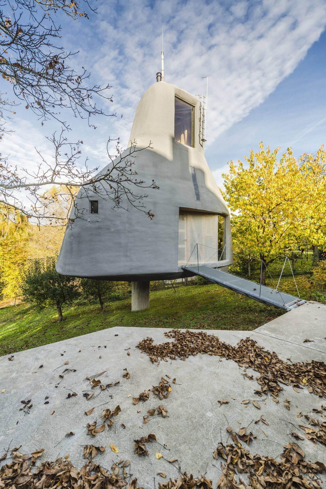 Семейный дом-дерево от студии SEPKA ARCHITEKTI 9