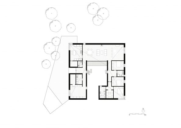 Дом-патио от студии PROD arquitectura design 21