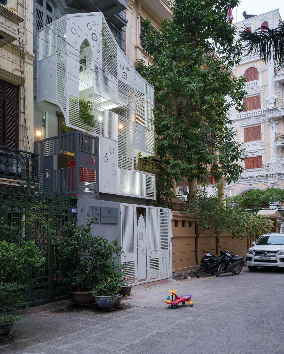 Дом-щит от студии Landmak Architecture 1