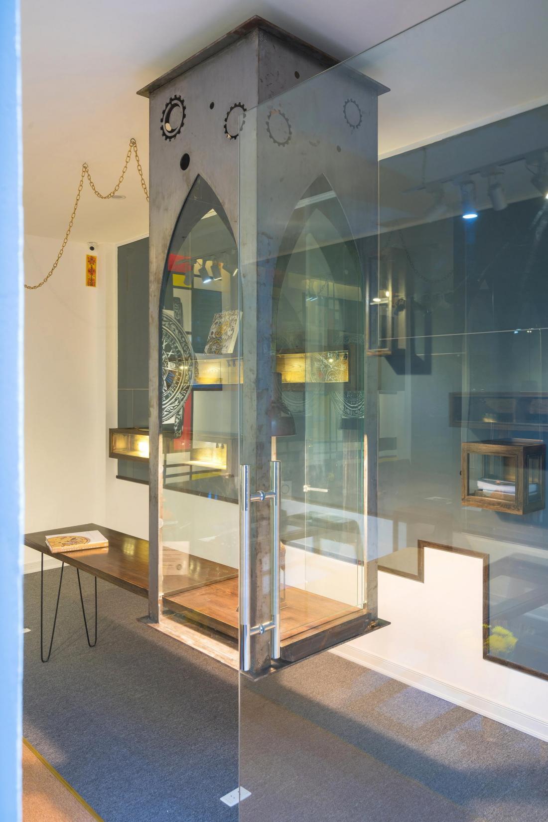 Дом-щит от студии Landmak Architecture 16