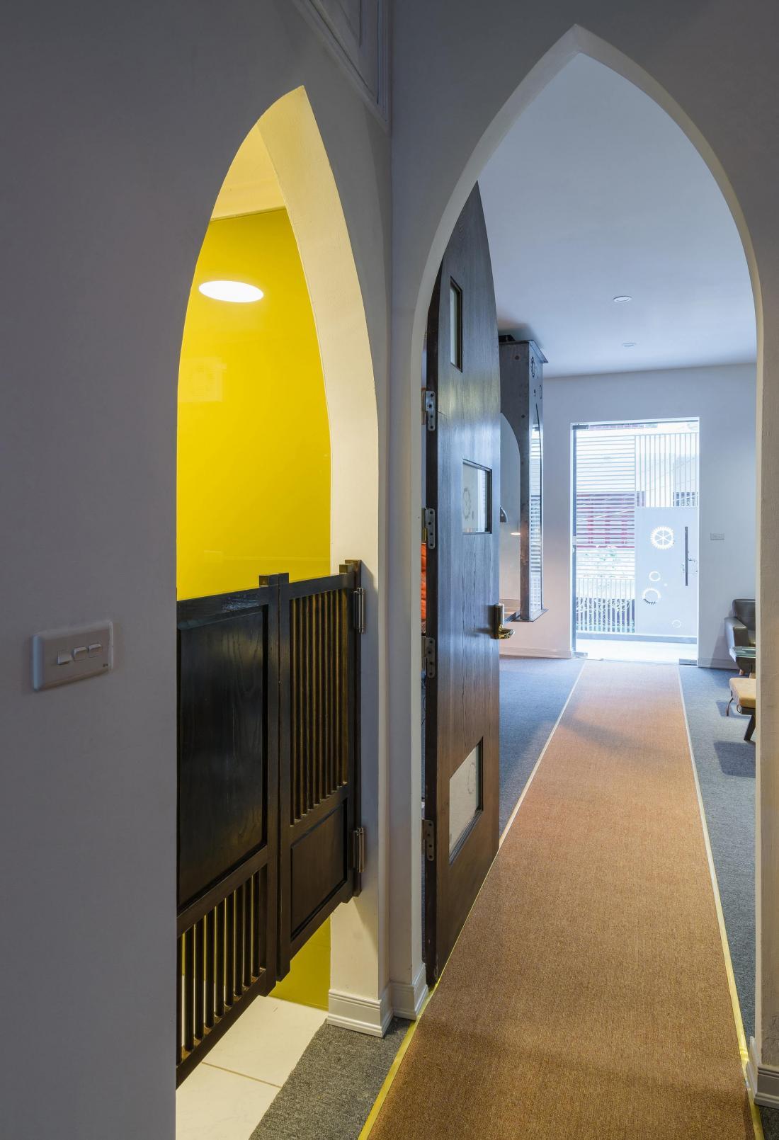 Дом-щит от студии Landmak Architecture 5