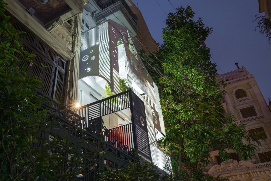 Дом-щит от студии Landmak Architecture 6