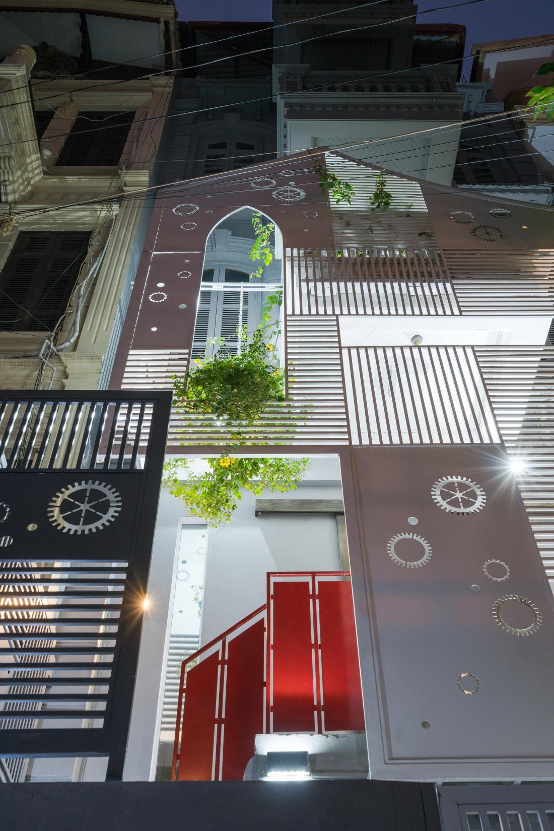 Дом-щит от студии Landmak Architecture 9