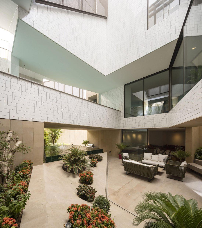 Дом трех садов в Кувейте от студии AGi architects 1