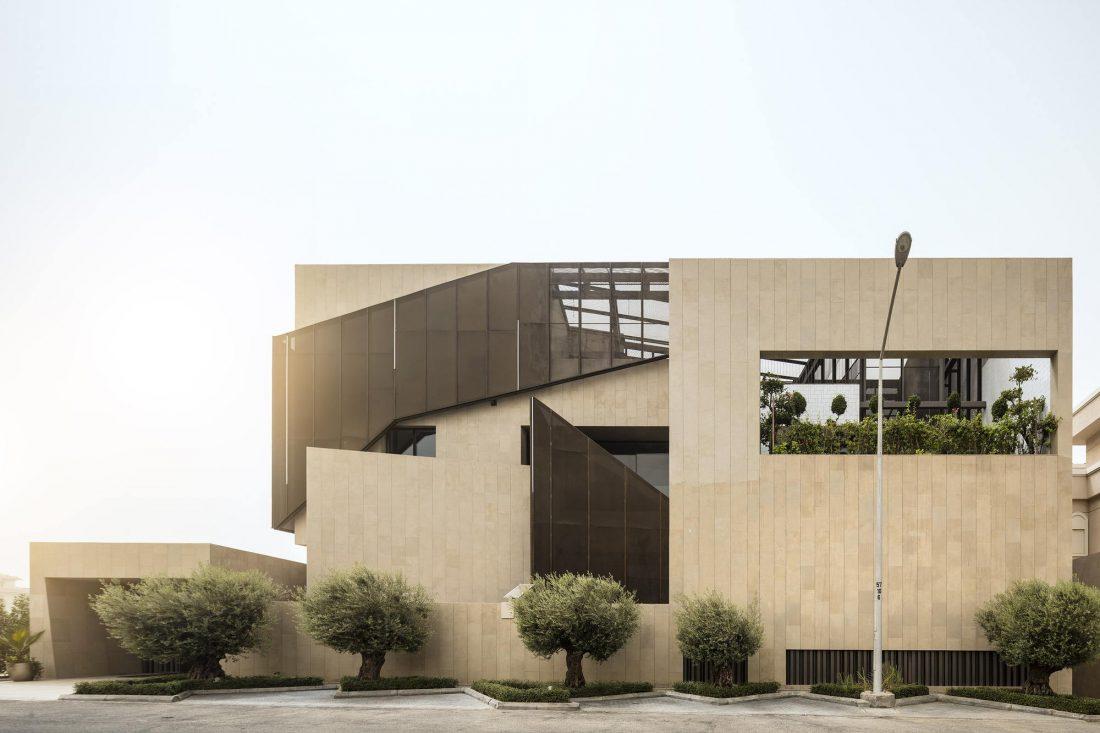 Дом трех садов в Кувейте от студии AGi architects 2
