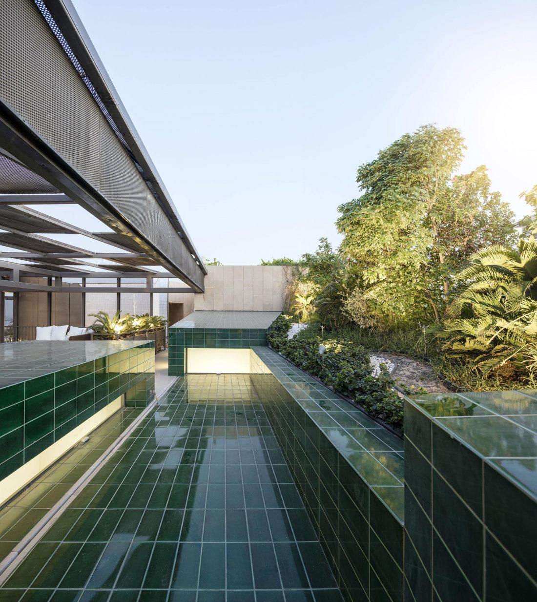 Дом трех садов в Кувейте от студии AGi architects 30