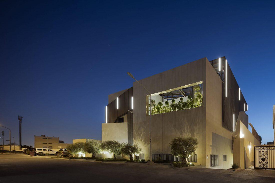 Дом трех садов в Кувейте от студии AGi architects 34