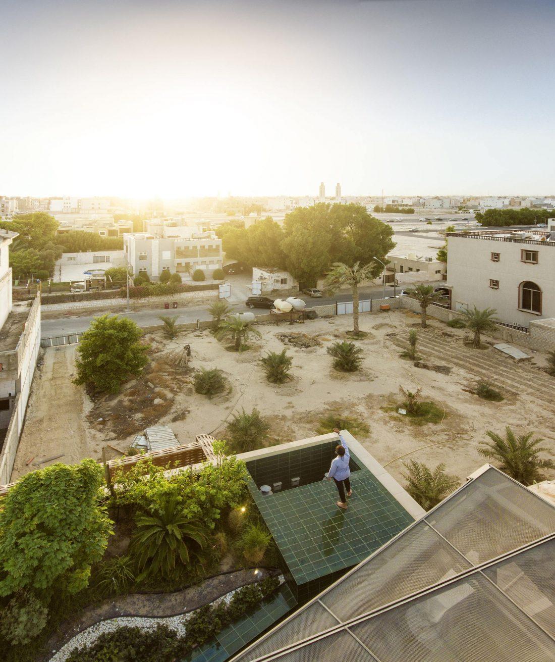 Дом трех садов в Кувейте от студии AGi architects 37