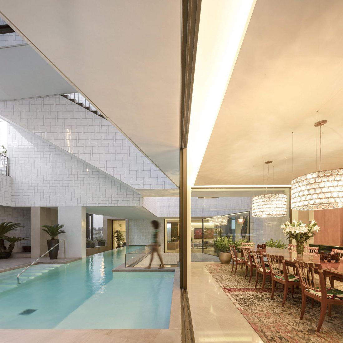 Дом трех садов в Кувейте от студии AGi architects 38