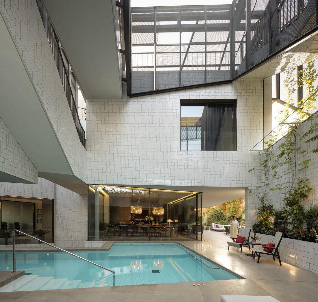 Дом трех садов в Кувейте от студии AGi architects 39