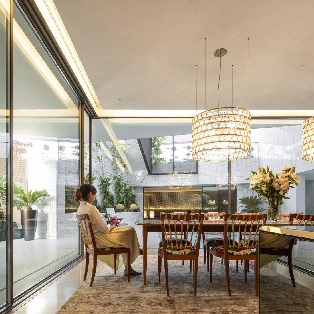 Дом трех садов в Кувейте от студии AGi architects 40