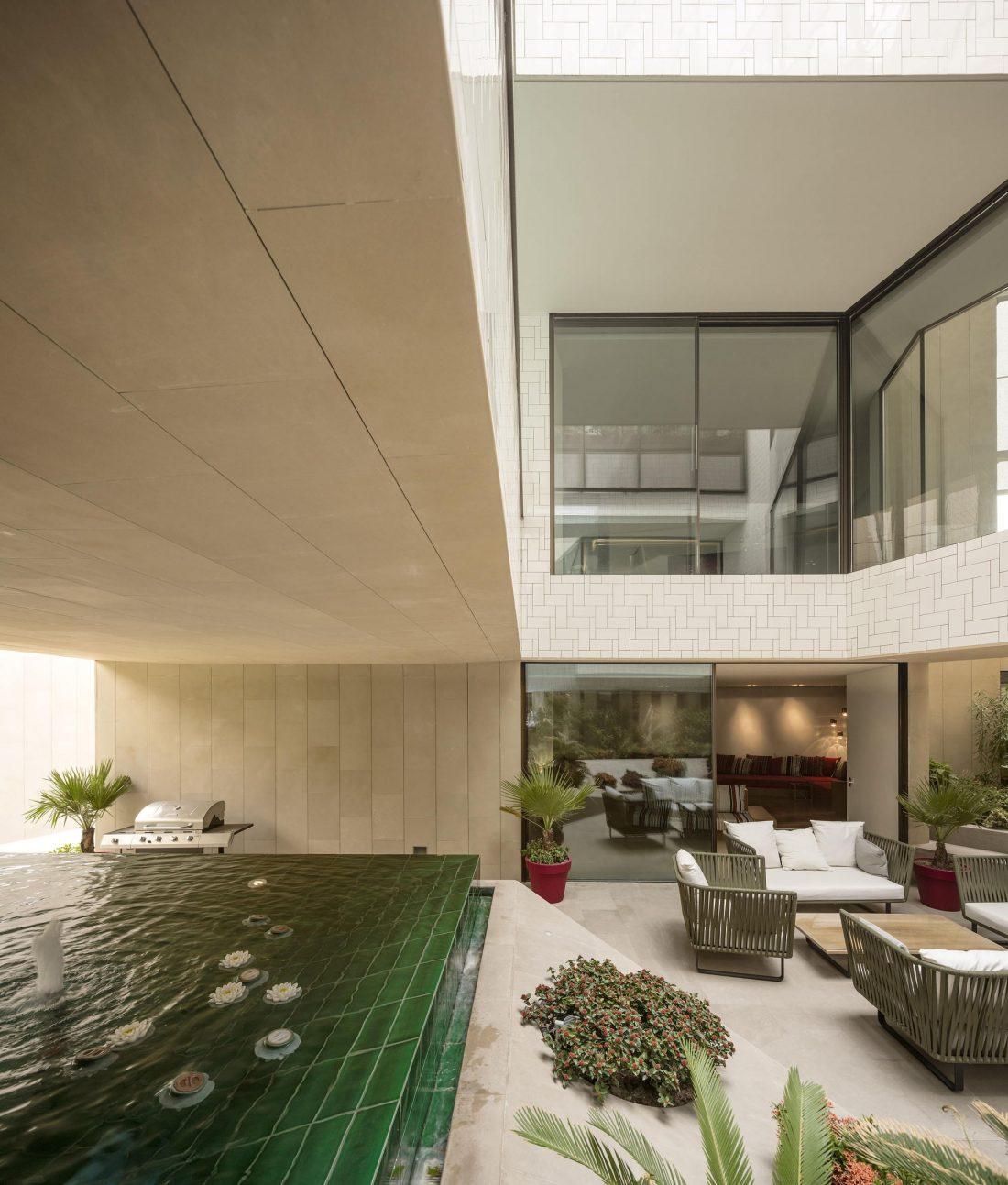Дом трех садов в Кувейте от студии AGi architects 45