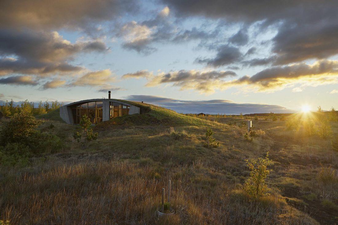 Дом в Исландии по проекту дизайн-ателье Studio Granda 2