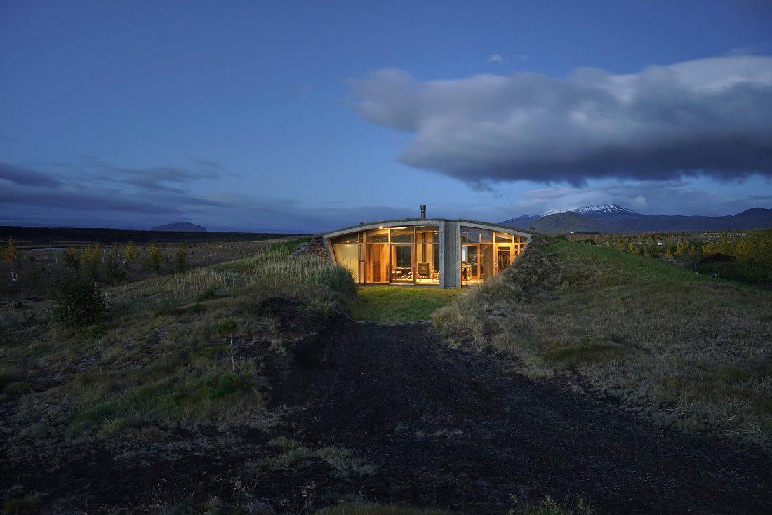 Дом в Исландии по проекту дизайн-ателье Studio Granda 7