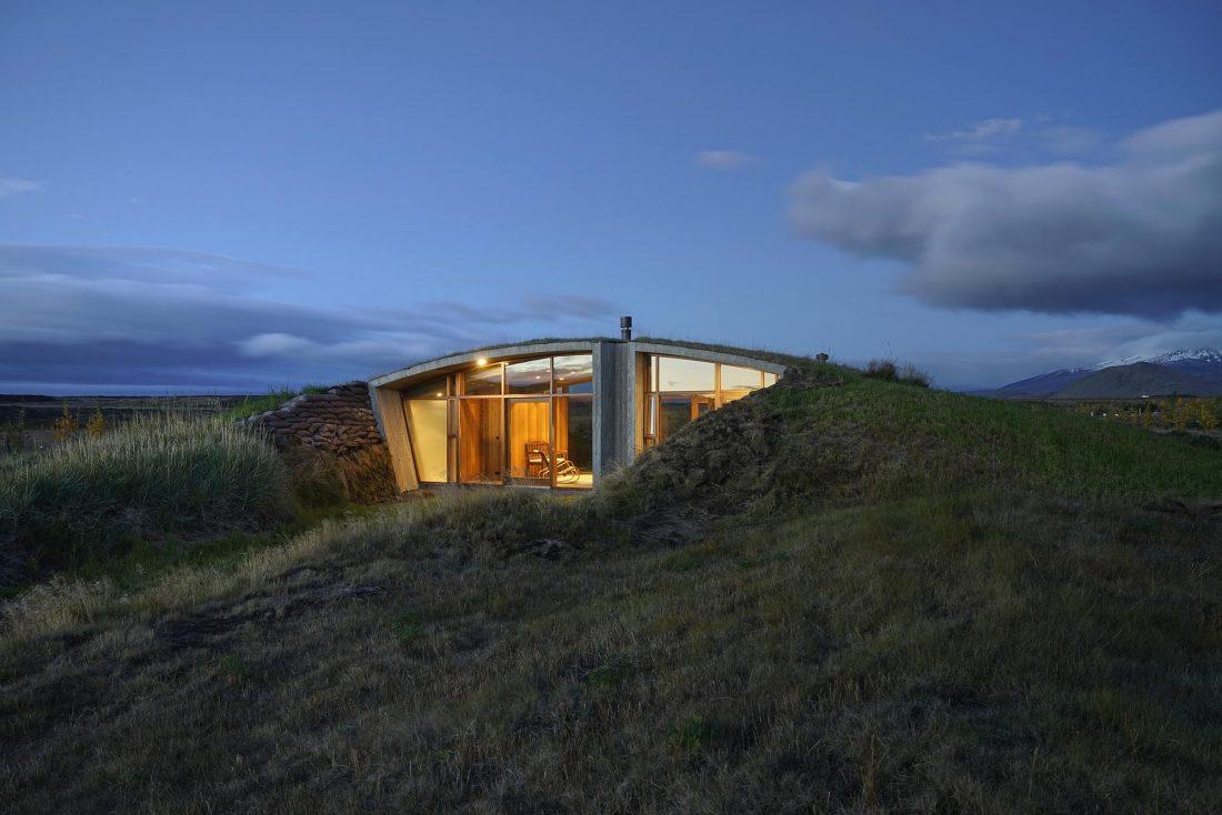 Дом в Исландии по проекту дизайн-ателье Studio Granda 8
