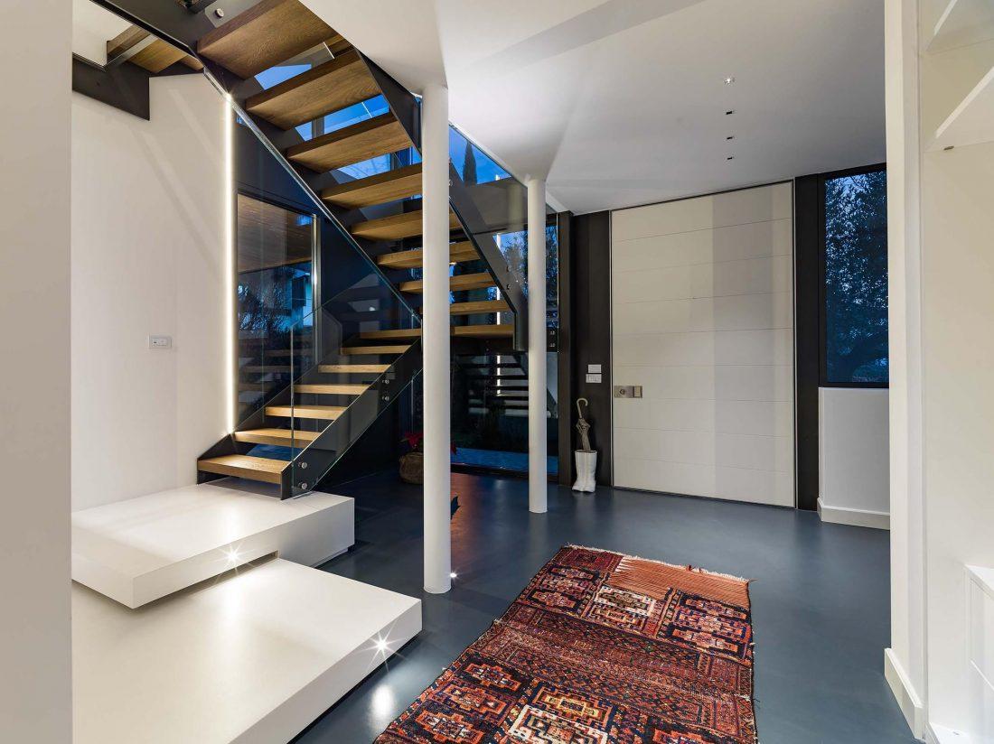Дом в Порденоне, Италия, от студии Caprioglio Associati Architects 13