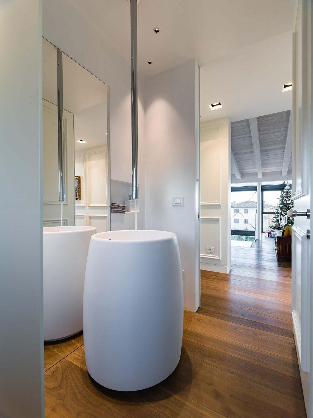 Дом в Порденоне, Италия, от студии Caprioglio Associati Architects 18