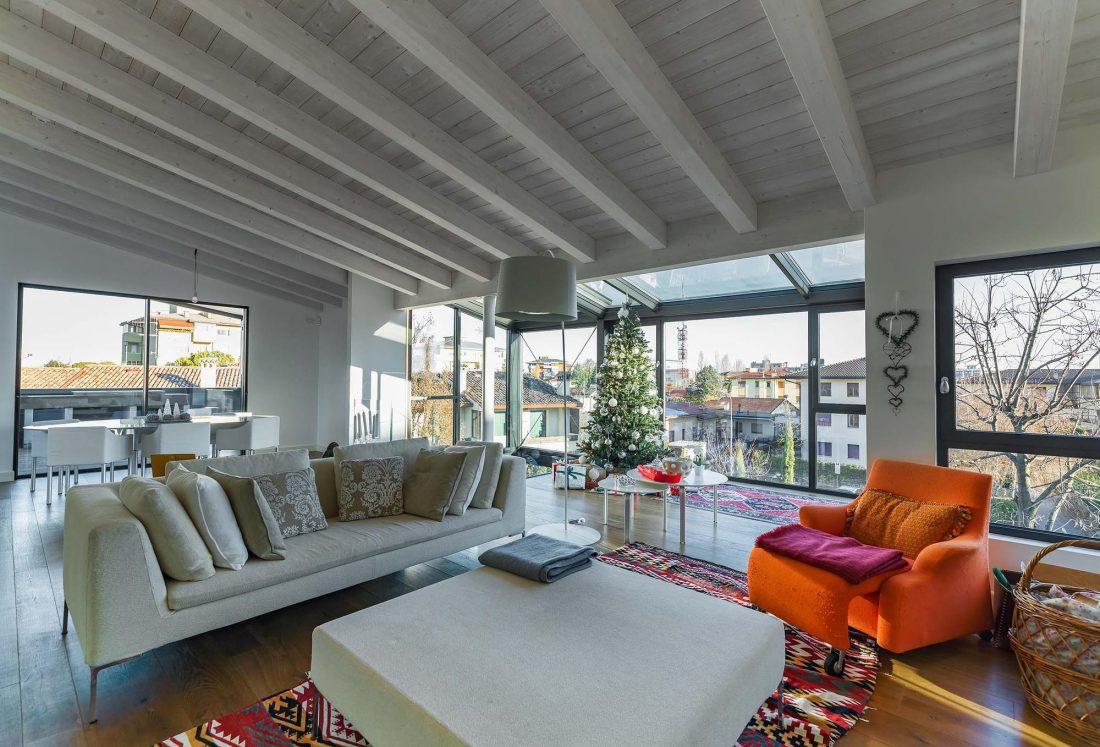 Дом в Порденоне, Италия, от студии Caprioglio Associati Architects 2