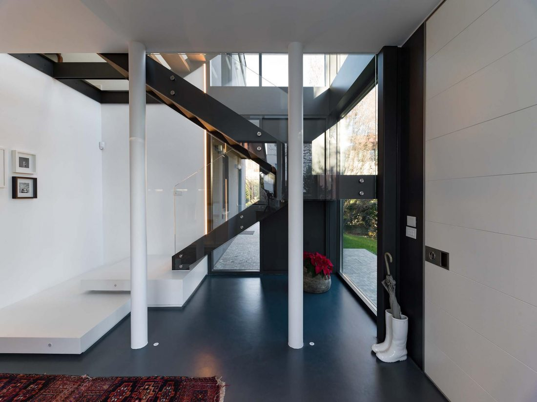 Дом в Порденоне, Италия, от студии Caprioglio Associati Architects 20