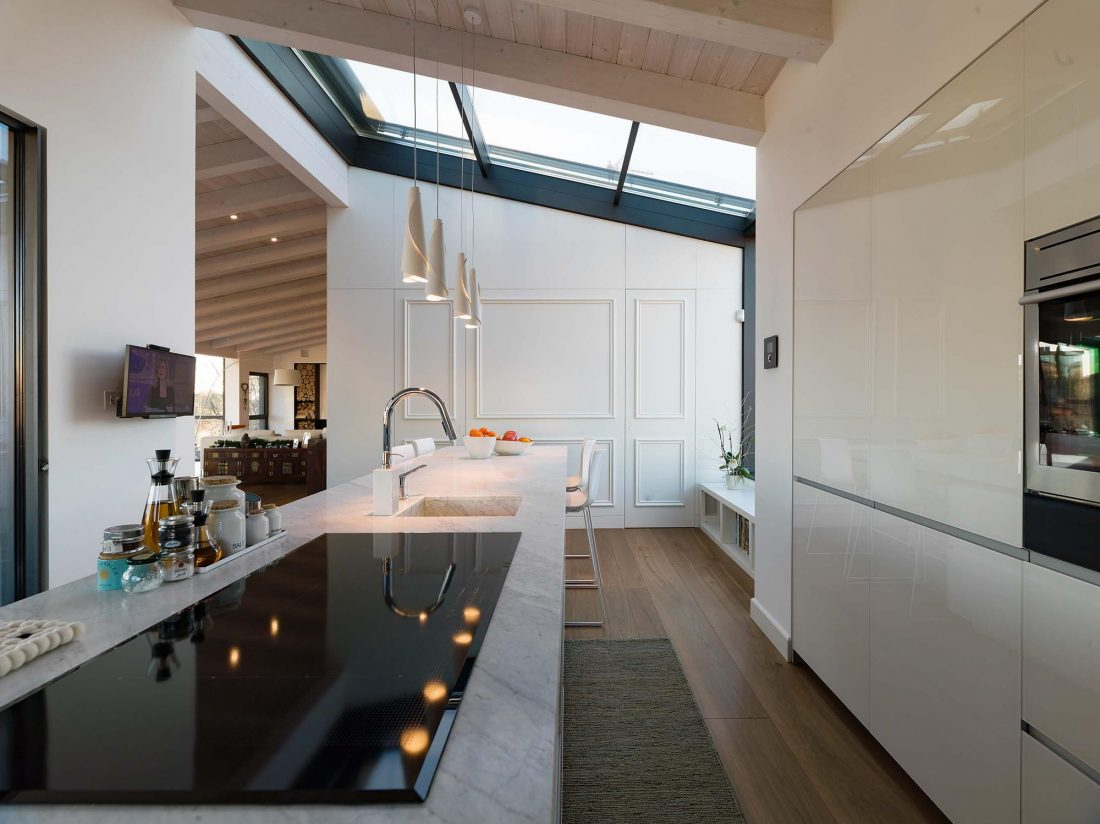 Дом в Порденоне, Италия, от студии Caprioglio Associati Architects 22
