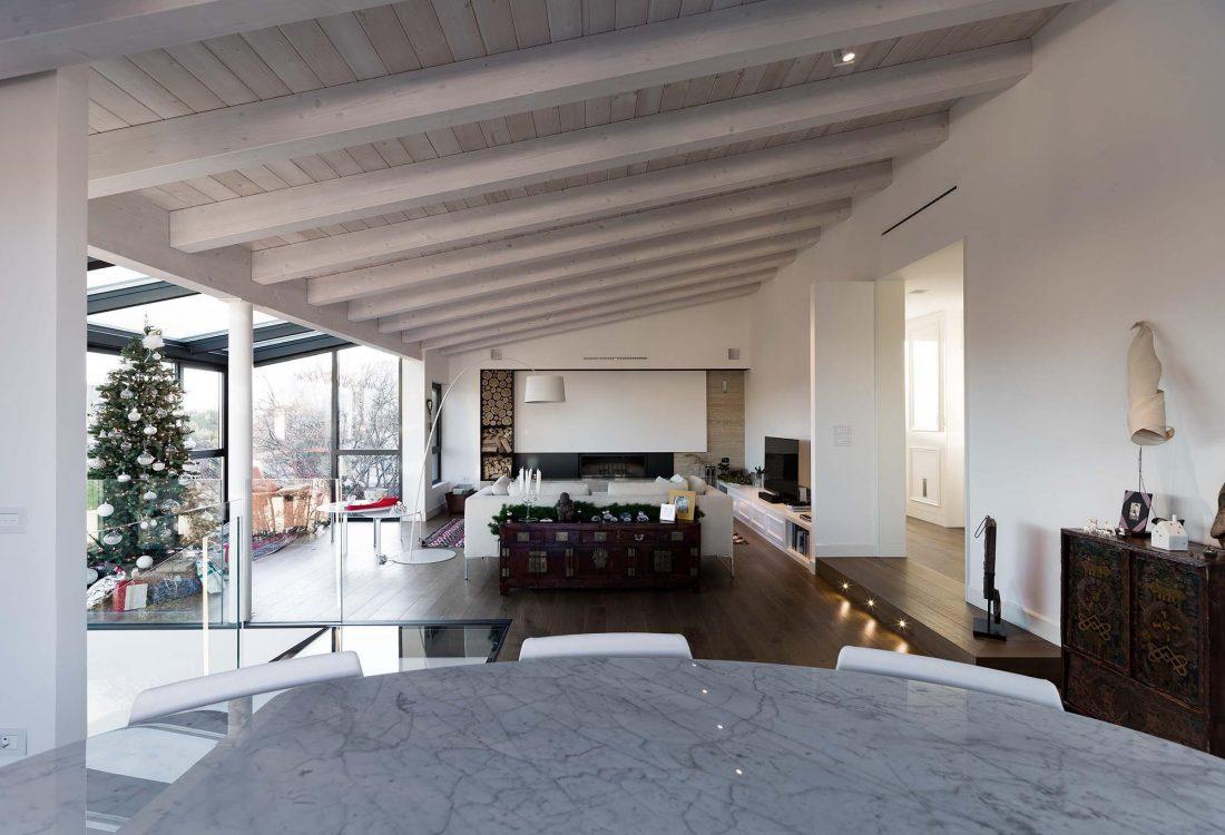 Дом в Порденоне, Италия, от студии Caprioglio Associati Architects 31
