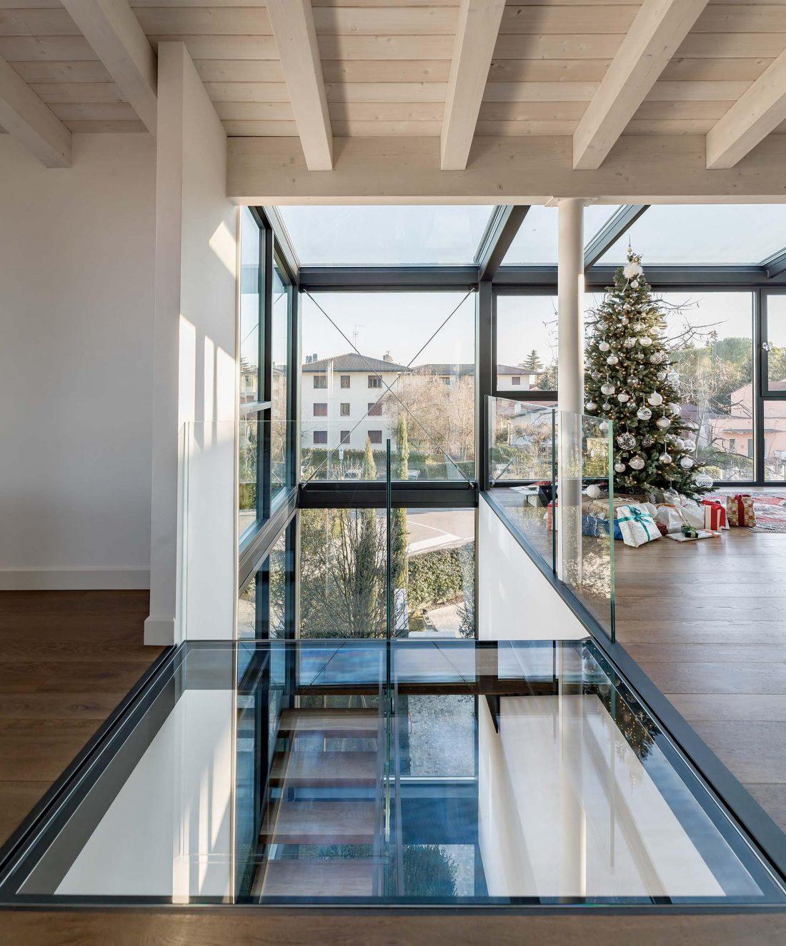 Дом в Порденоне, Италия, от студии Caprioglio Associati Architects 32