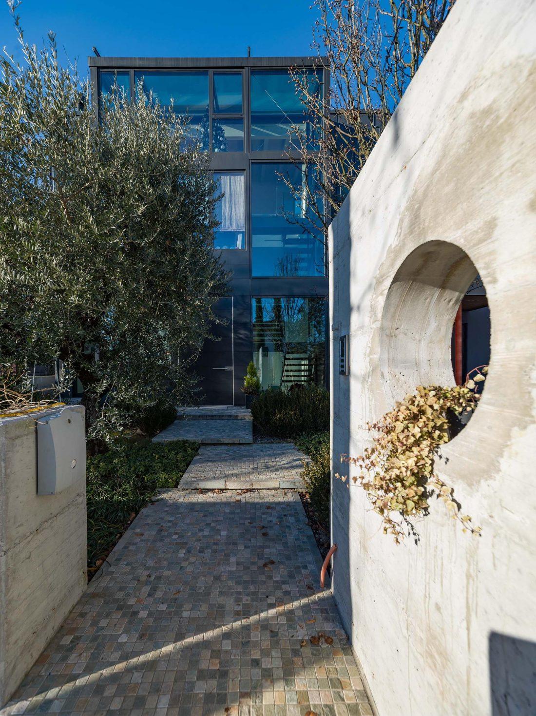 Дом в Порденоне, Италия, от студии Caprioglio Associati Architects 34