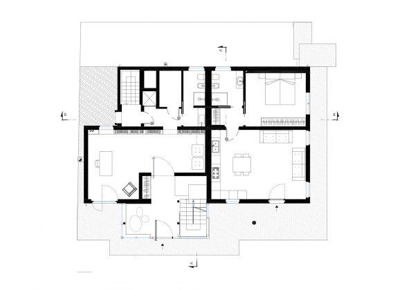Дом в Порденоне, Италия, от студии Caprioglio Associati Architects 38